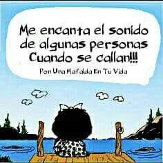 Como Se Dice En Arabe Gracias Silencio Gracias Mafalda Frases Mafalda Imagenes De Mafalda