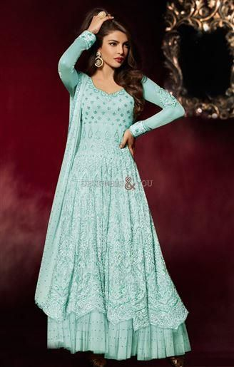 priyanka Chopra dresses wedding anarkali suits bollywood style ...