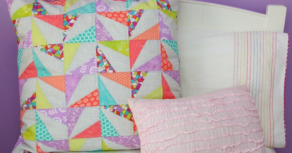 Confetti Quilted Pillow Tutorial