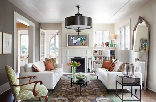 Living Room With Multiple Doors And Windows And Tv Google Search