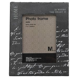 Paloma Slate Photo Frame 10 X 15cm Photo Frame Frame Slate