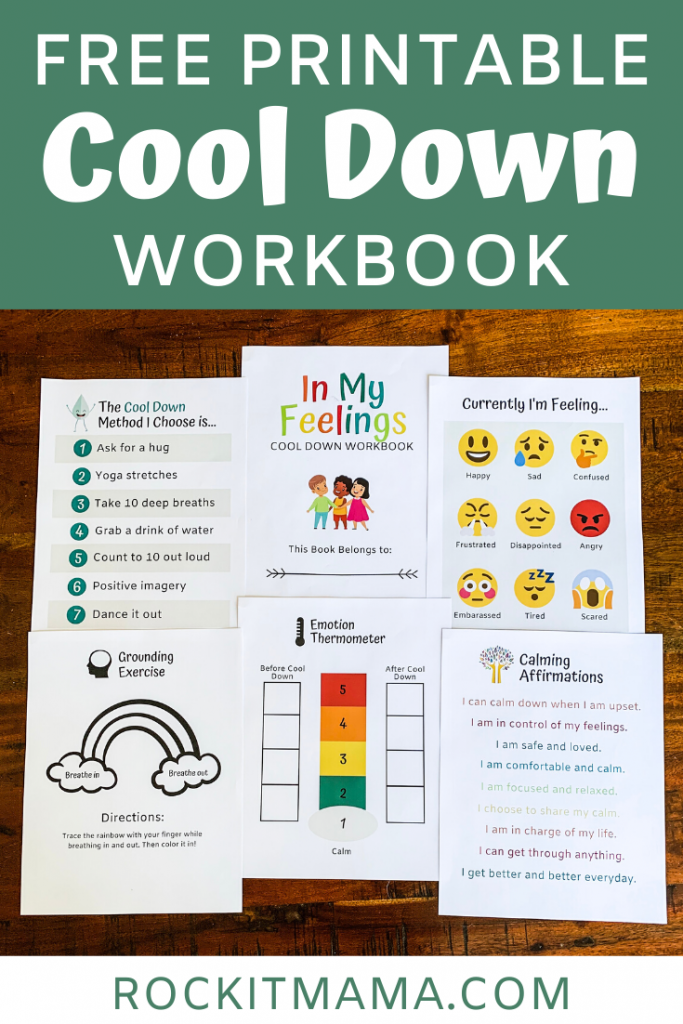 Help Kids Cool Down with this FREE Printable Workb