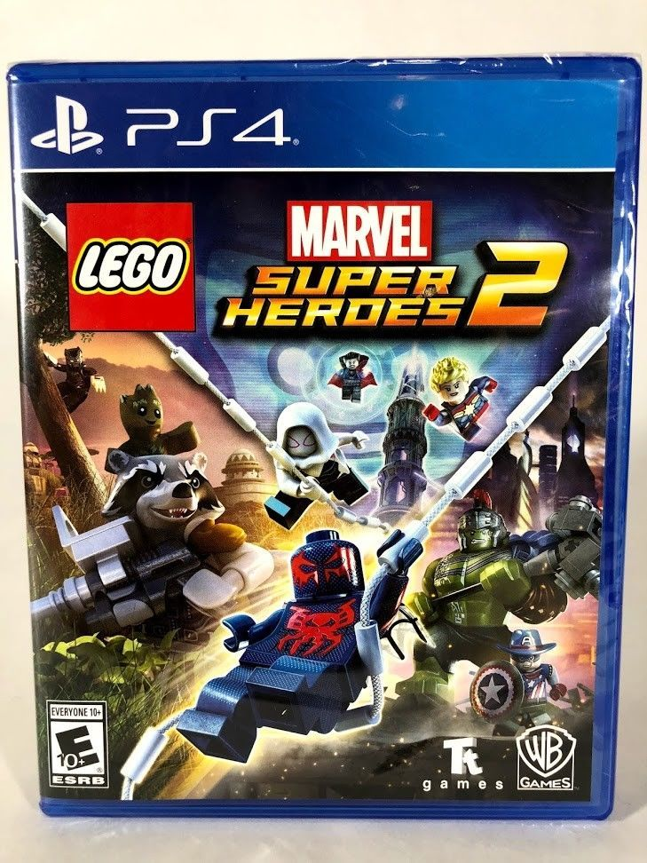 LEGO Marvel Super Heroes 2 - PlayStation 4 PS4 - Brand New Sealed ...