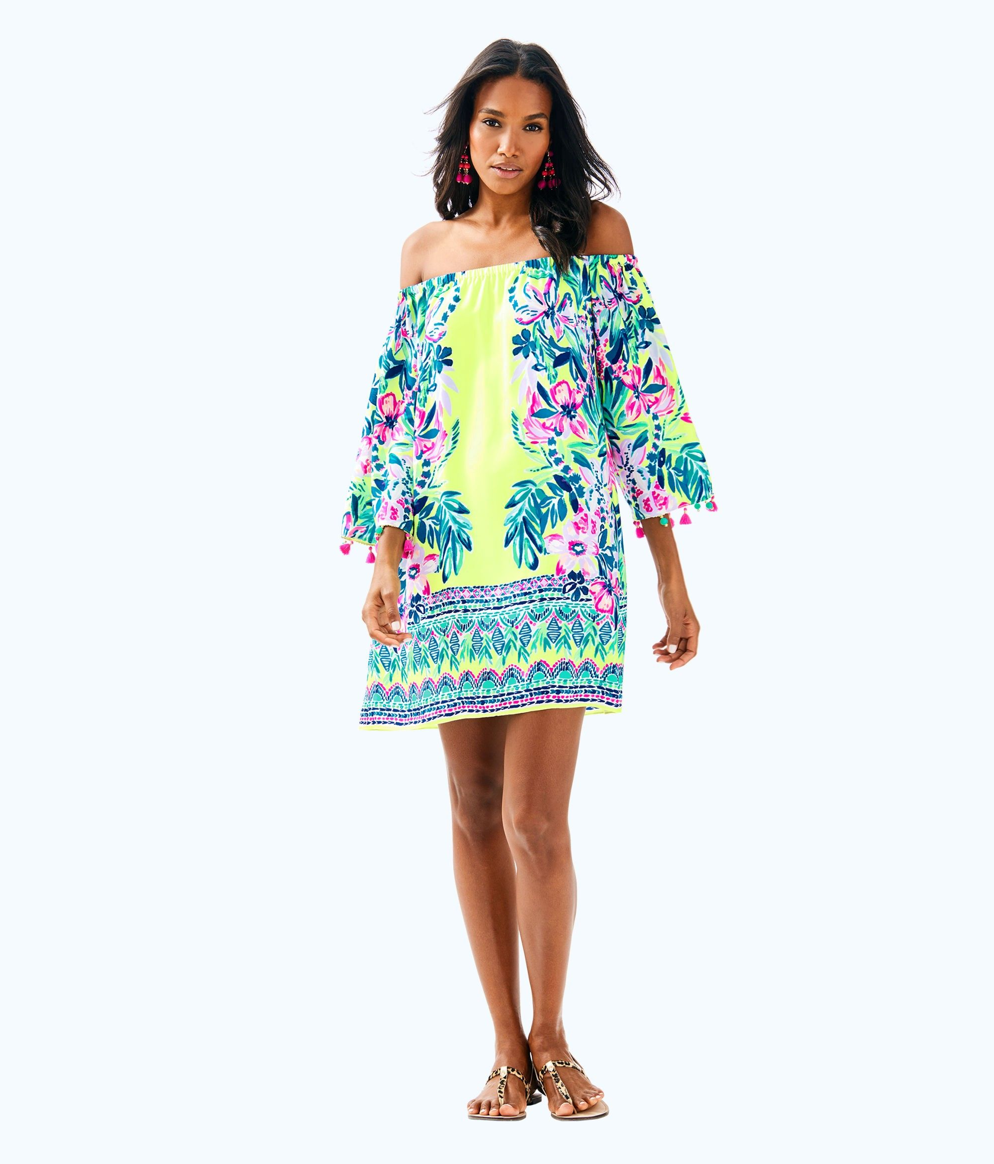 33895d943b4 Lilly Pulitzer Payge Off The Shoulder Dress - S ...