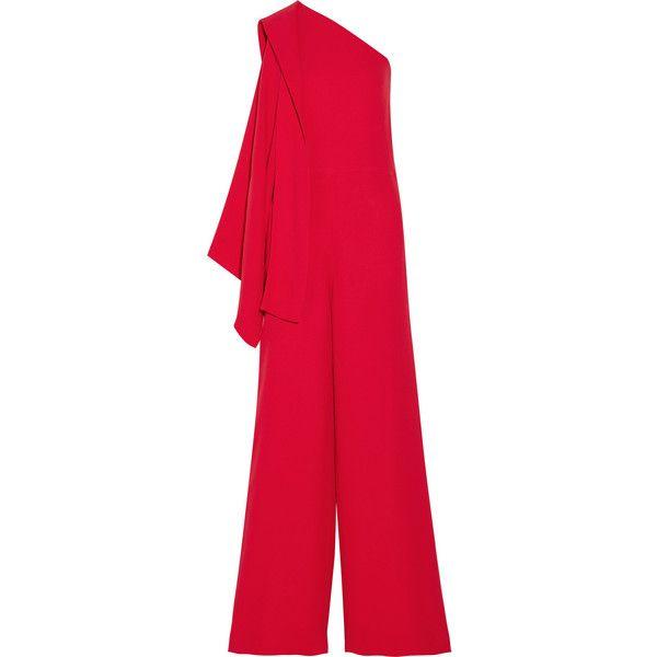 483e1f4c340 Valentino One-shoulder cady jumpsuit ( 1