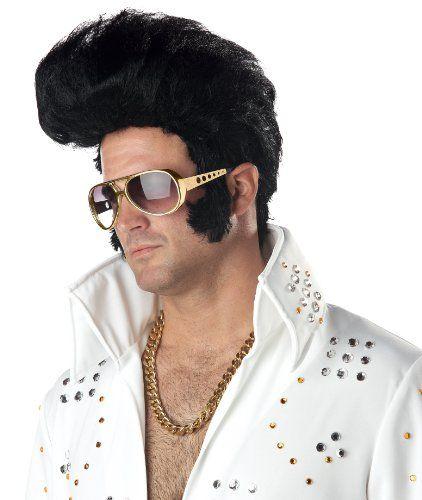California Costumes Men's Rock N' Roll Wig | Celebrity