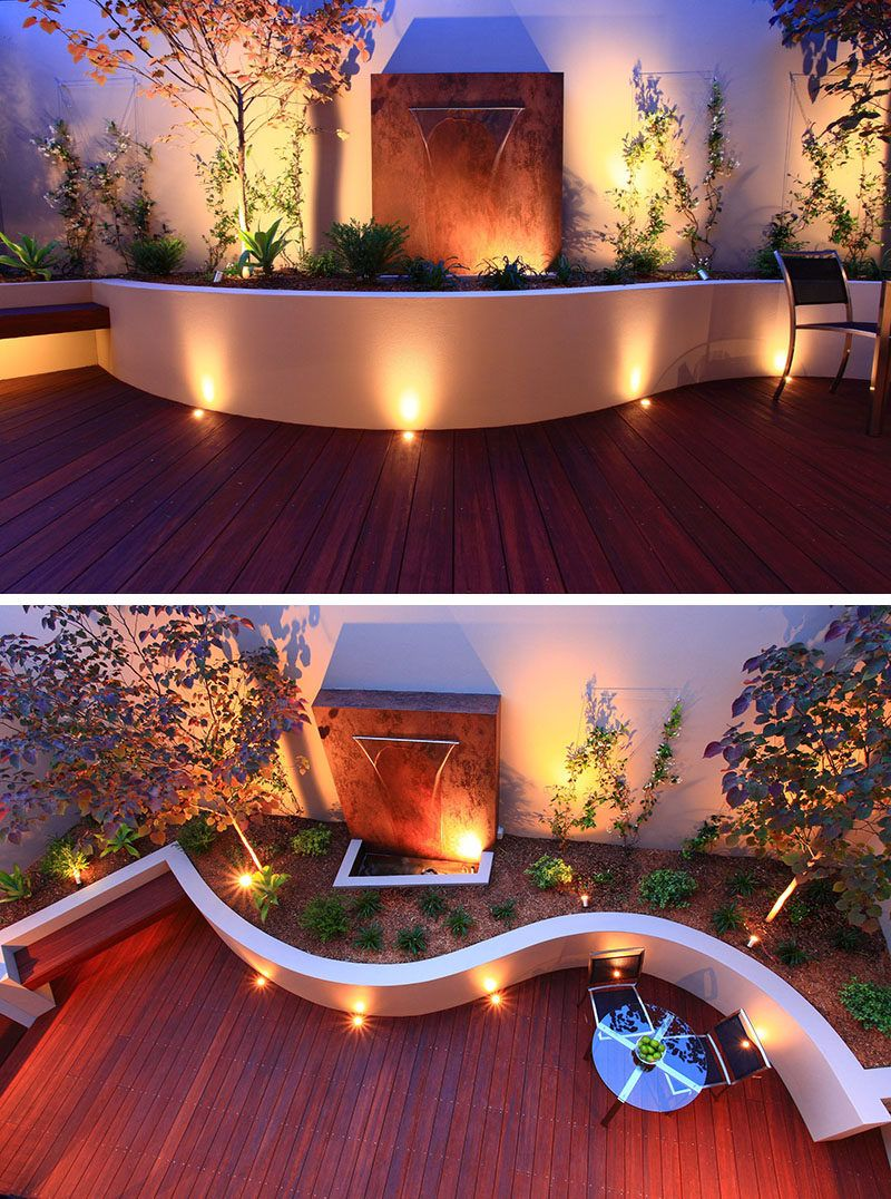 17 inspiring examples where exterior uplighting has been used to 17 inspiring examples where exterior uplighting has been used to show off a house aloadofball Choice Image