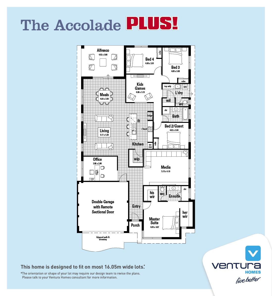 accolade plus ventura homes hp perth wa pinterest house