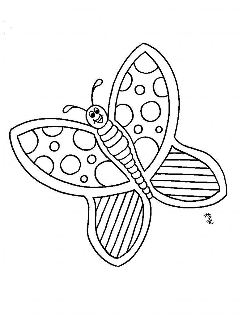 Butterfly Coloring Pages Butterfly Coloring Page Pattern Coloring Pages Animal Coloring Pages [ 1025 x 786 Pixel ]