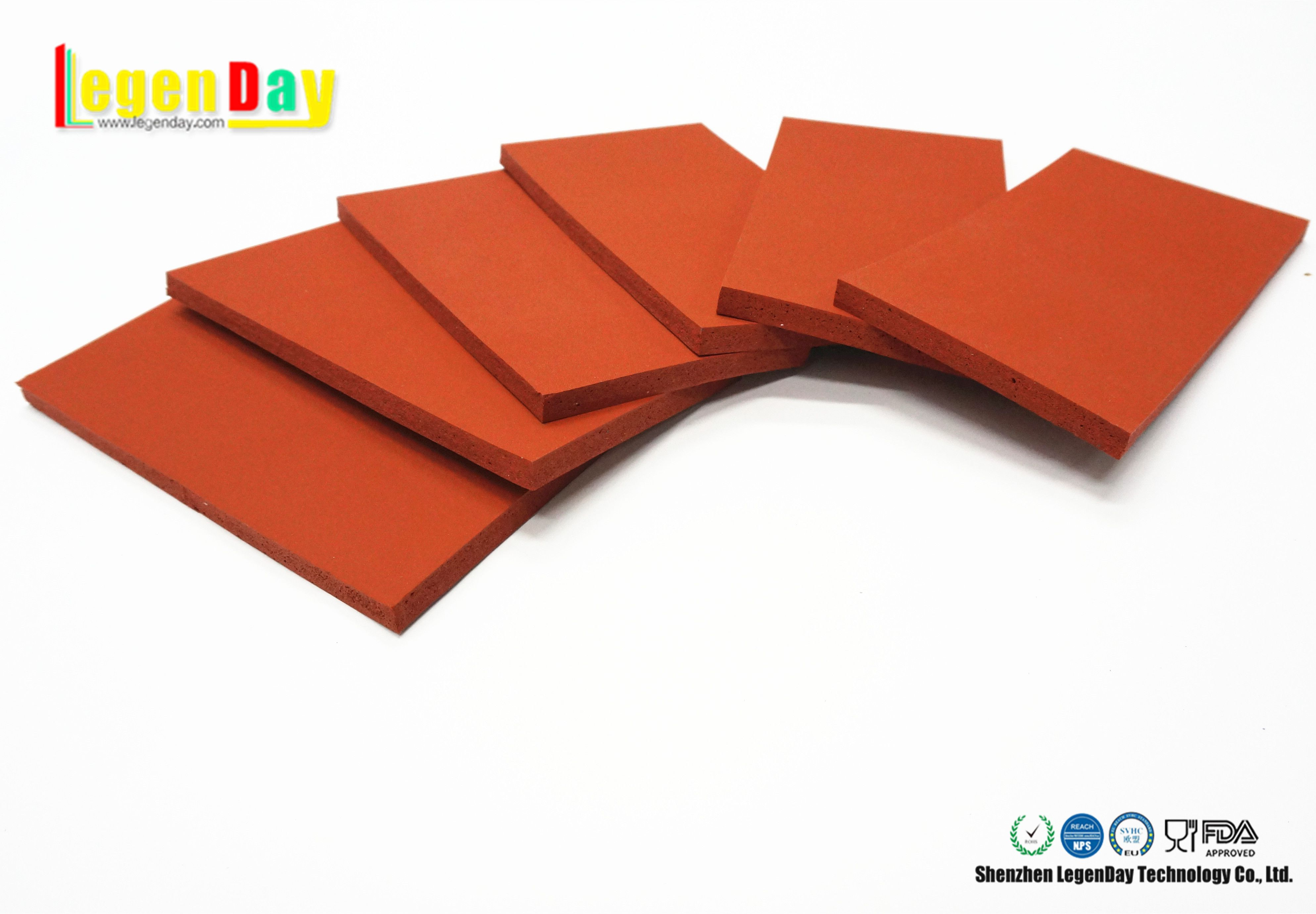 Silicone Rubber Sheet 1 Wide Application In Food Chemical Industry Hospital Electronics Etc 2 Long Life Industrial Accessories Silicone Rubber Silicone Sheets