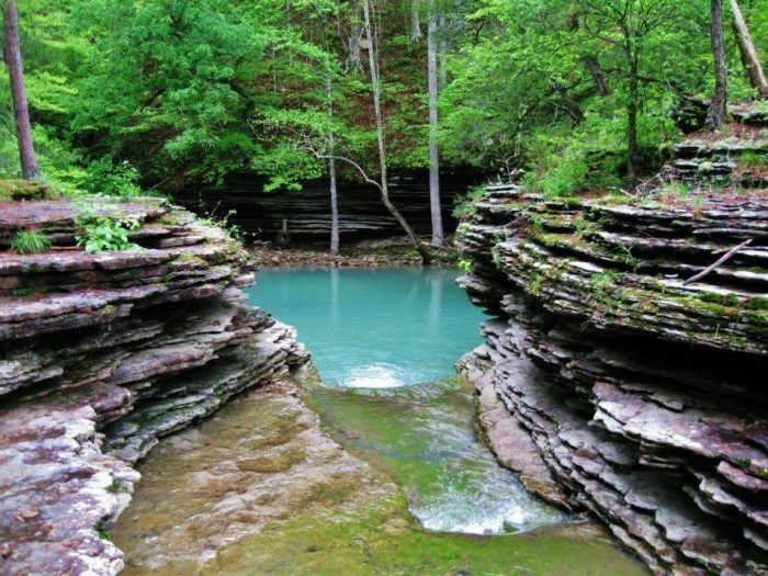 also find this fantastic swimming hole nearby, along with many other places to take a dip.