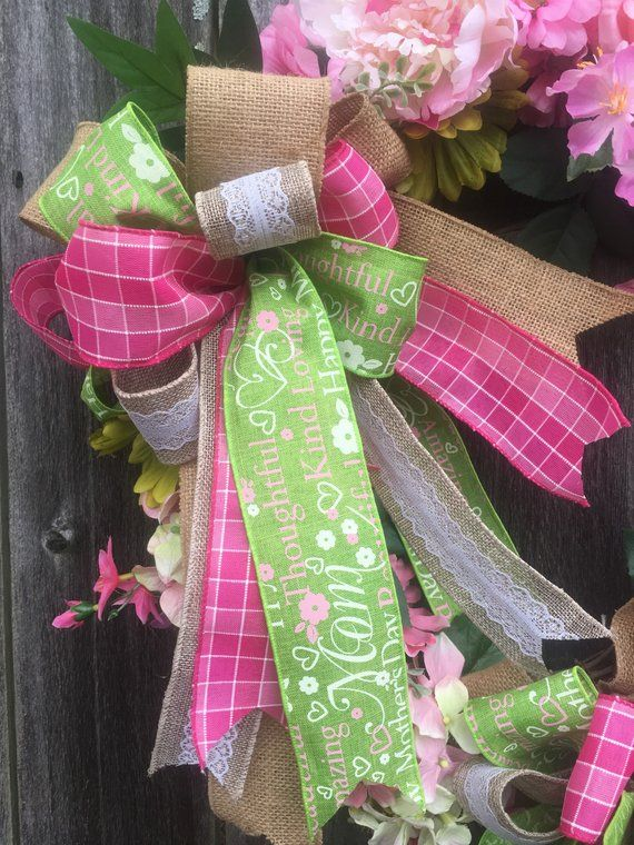 Photo of Mother's Day Floral Grapevine Wreath – Mother's Day Wreath – Floral Grapevine Wreath – Mother's Day Gift