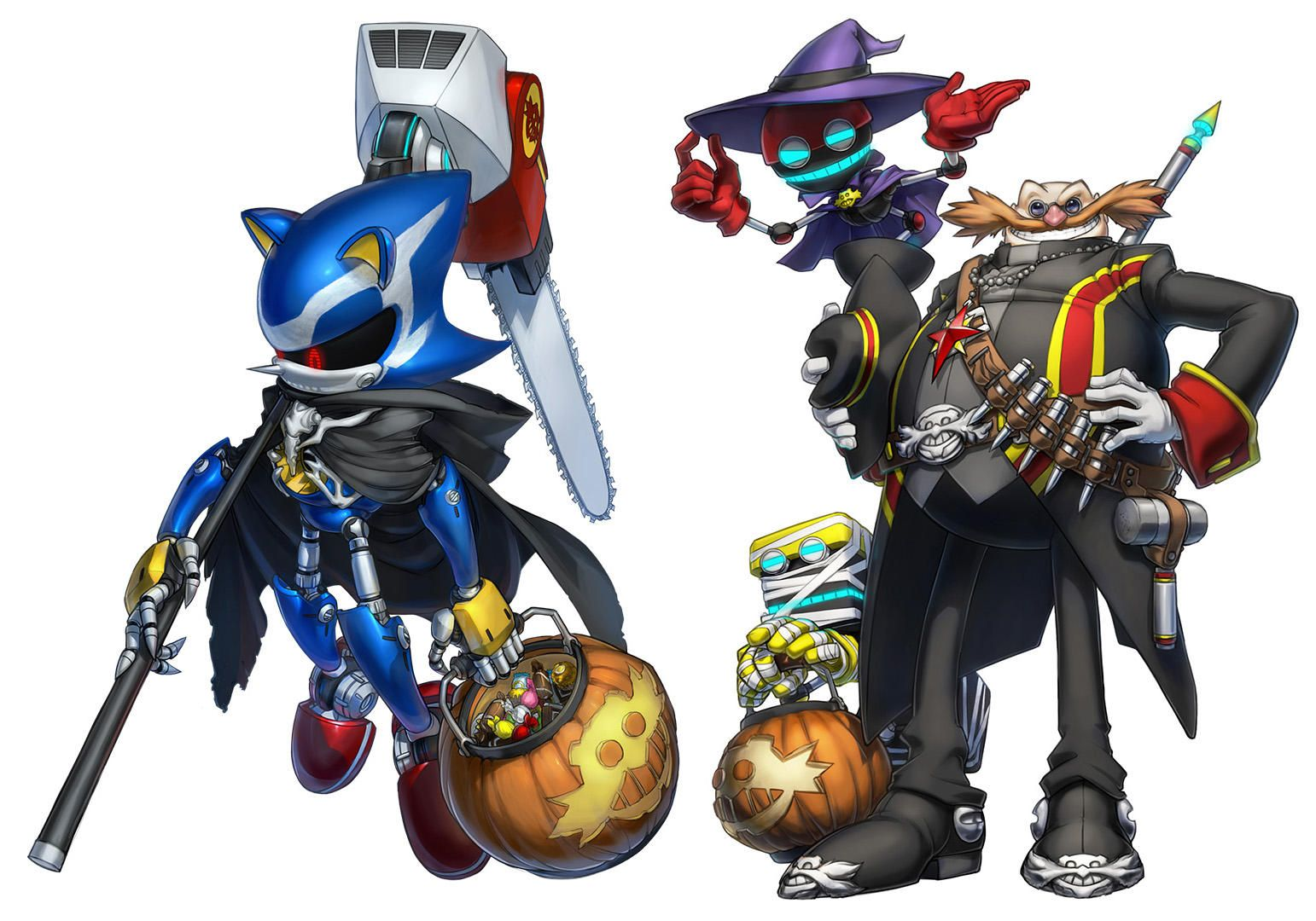 The Eggman Empire Goes Trick Or Treating