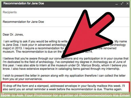 Email Professor For Letter Of Recommendation from i.pinimg.com