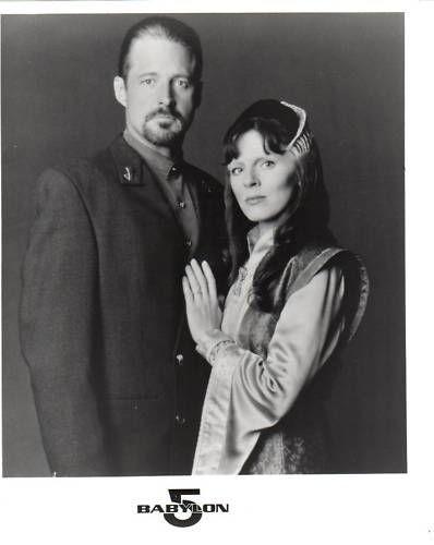 Bruce Boxleitner and Mira Furlan