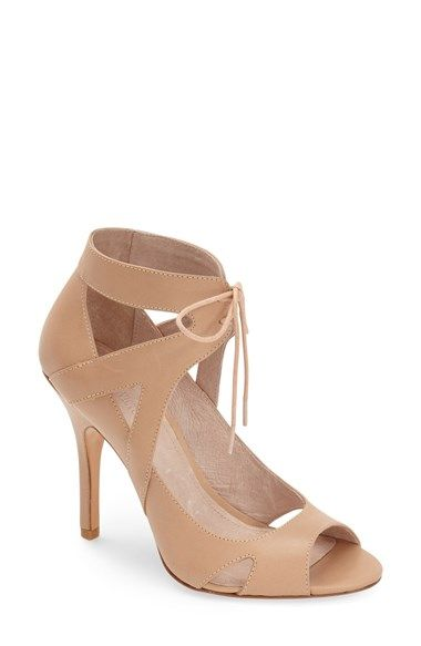 e85767bcb06 Pour la Victoire  Yanni  Cutout Leather Lace-Up Sandal (Women) available at   Nordstrom