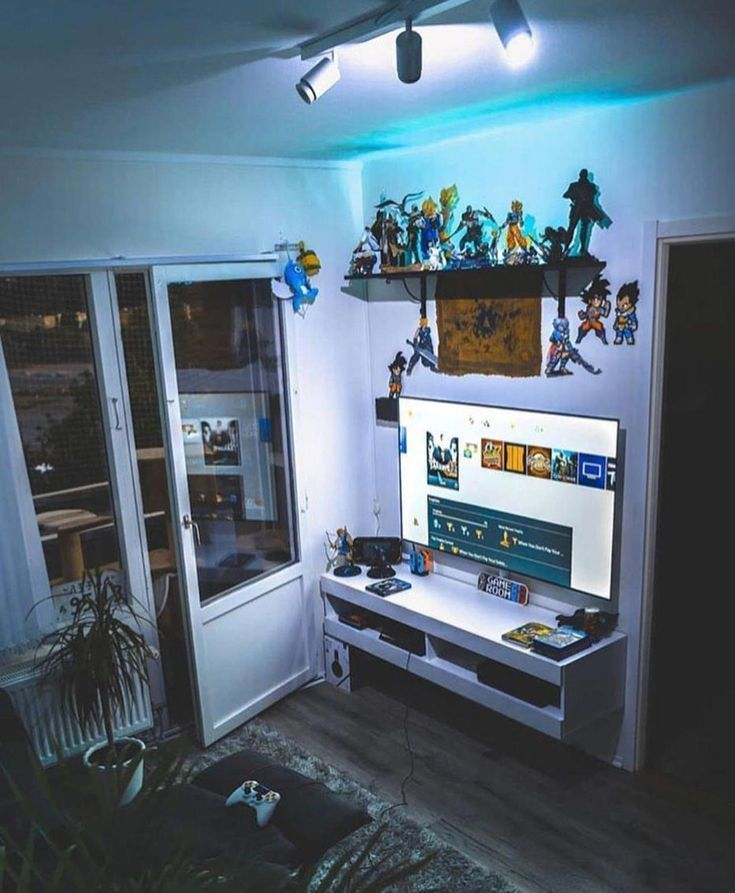 Gaming Pinwire Room Gaming Setup And Game Room Pinterest 26 Mins Ago Gaming Room Setup Computer Setup Desk Set Small Game Rooms Tech Room Video Game Rooms