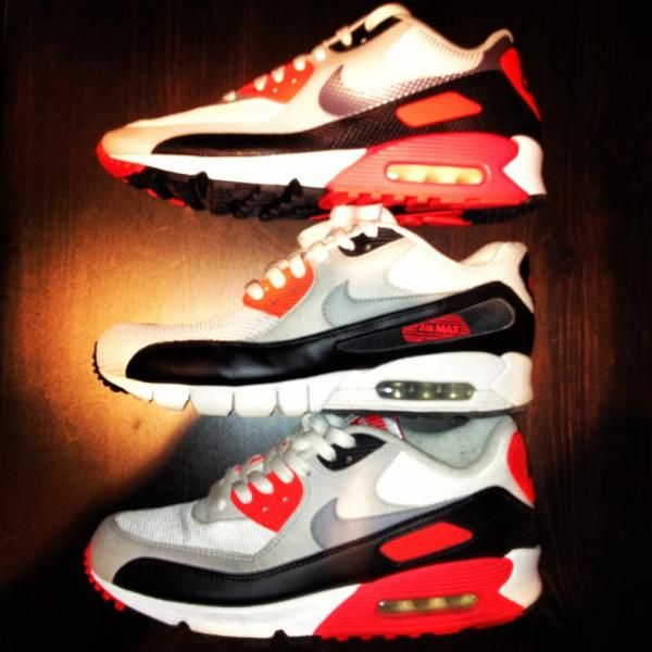 @andyforum: Nike Air Max Infrared 90s AirCurrent Hyperfuse