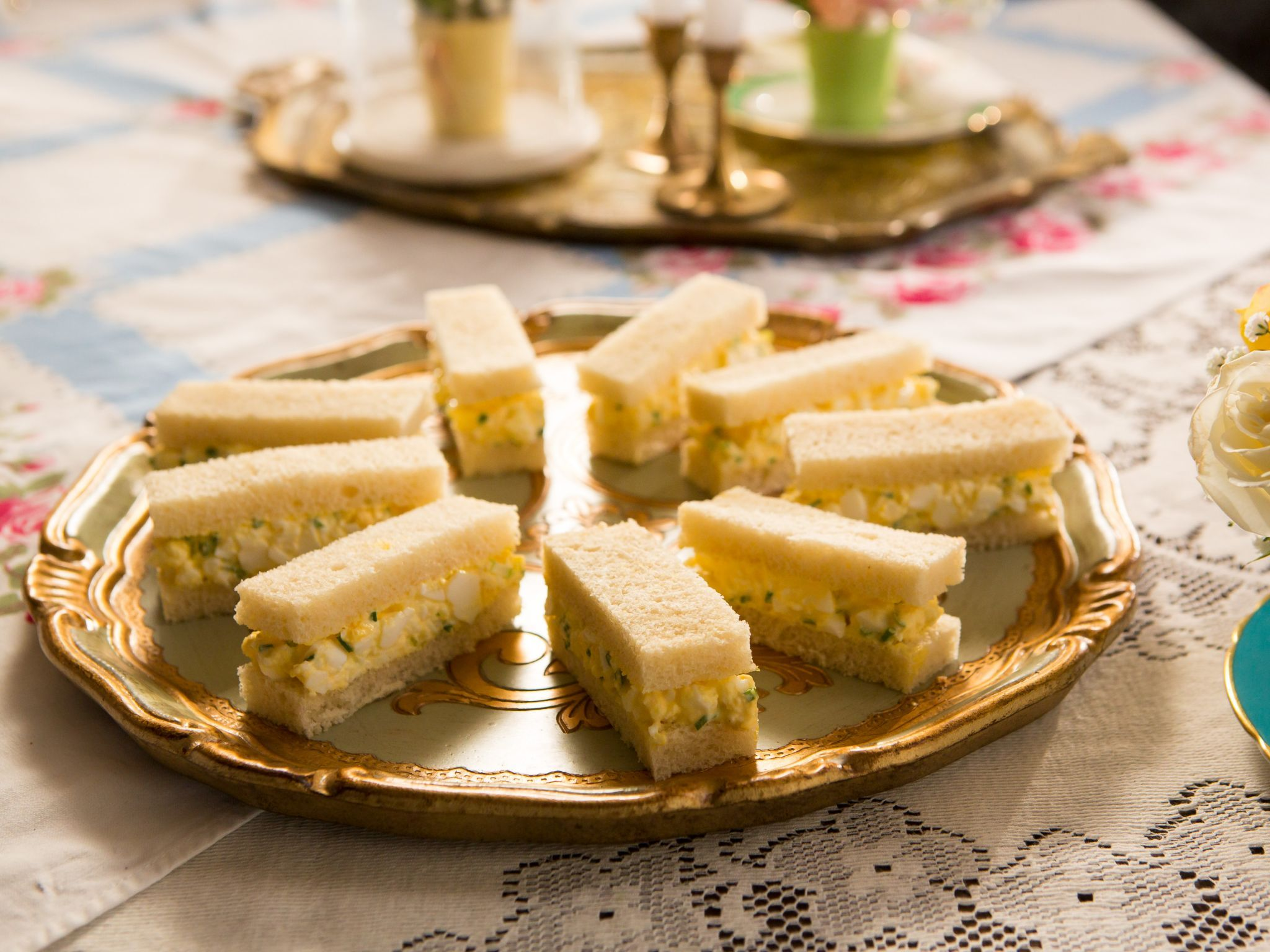 Truffled egg salad tea sandwiches recipe tea sandwiches egg get this all star easy to follow truffled egg salad tea sandwiches forumfinder Choice Image