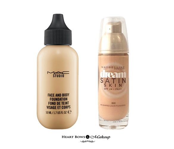 glowing foundation for dry skin
