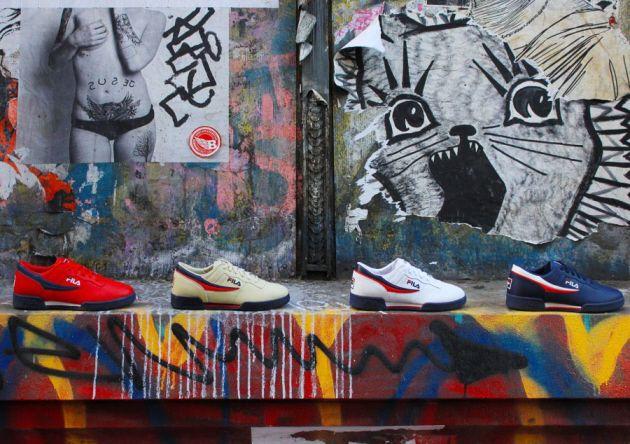 Kolekcja Butow Fila Wiosna Lato 2013 New Fila Spring Summer Sneaker Head