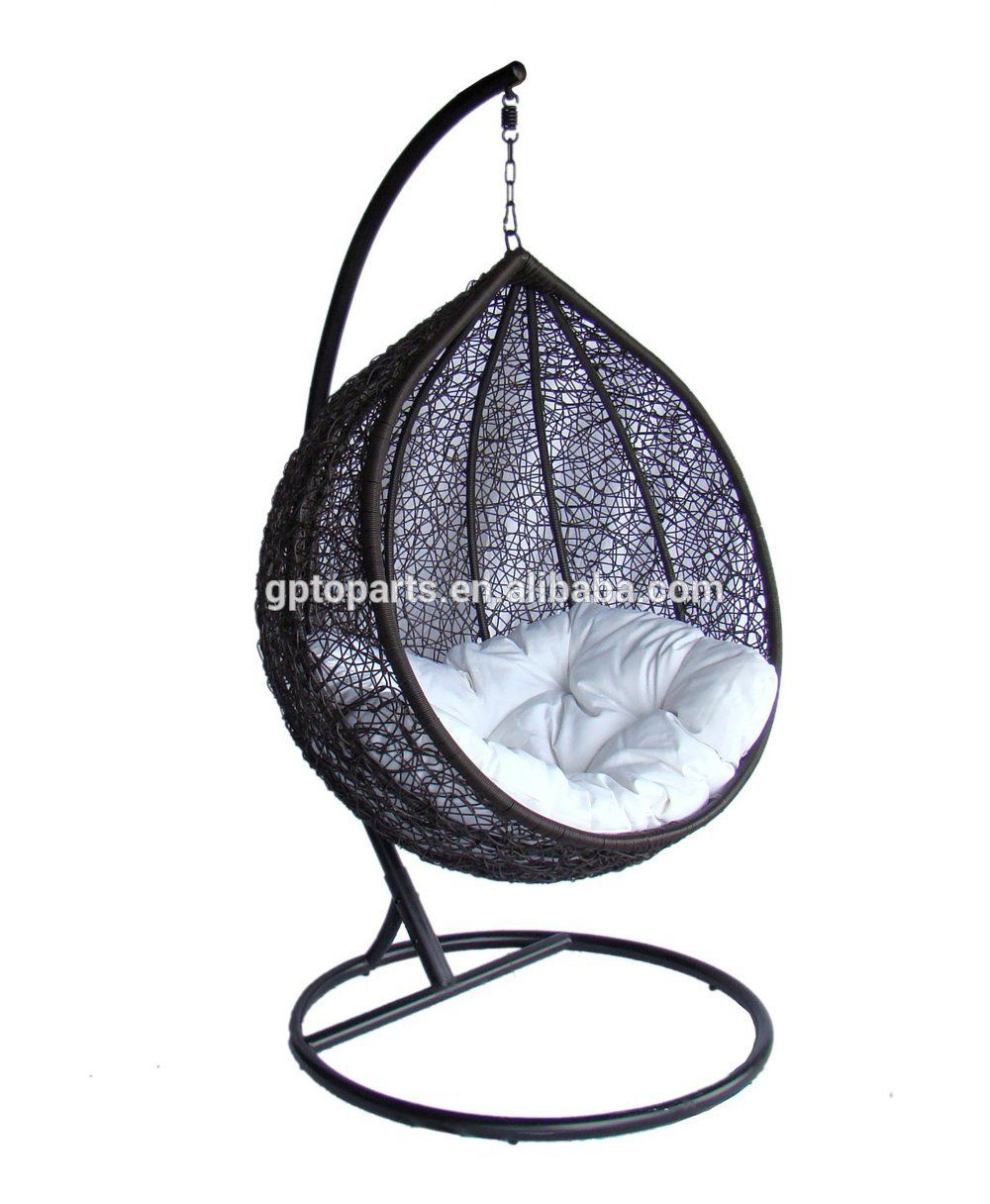 Rattan Hanging Egg Swing Chairs Outdoor Gazebo Swing Wicker Single Seat Chair Swingchair Swinging Chair Hanging Chair Swing Chair Outdoor
