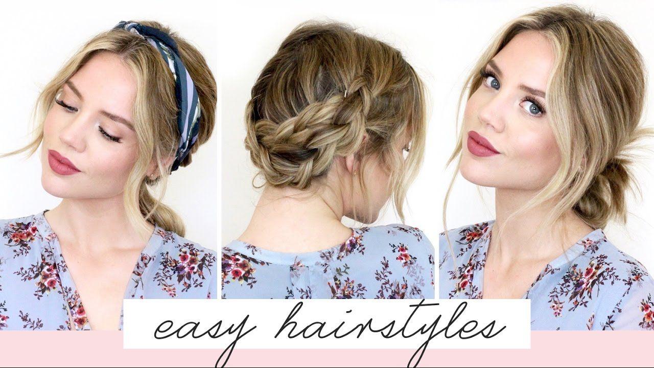 easy hairstyles for shortmedium length hair spring edition