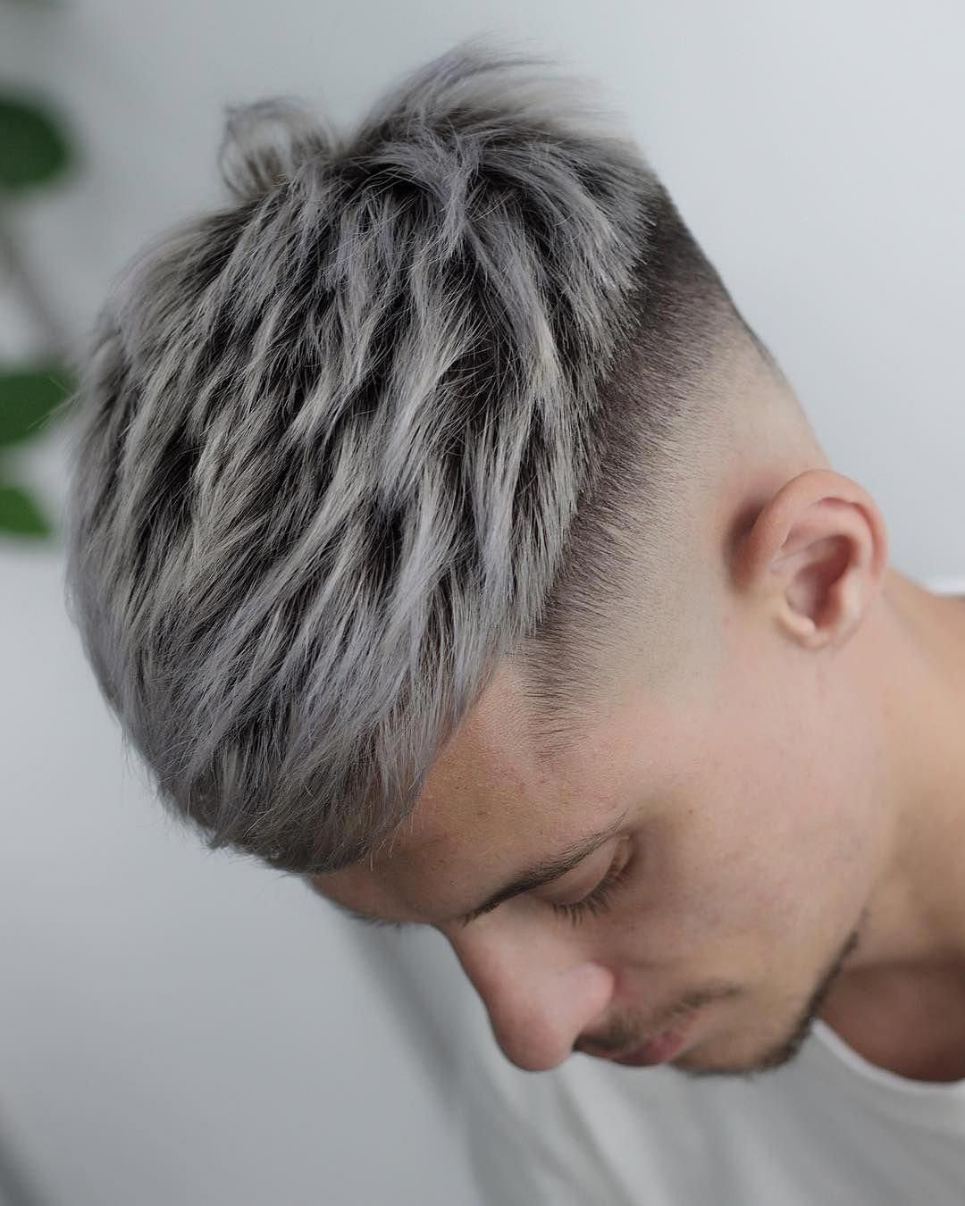 Pin By Leo Macedo On Hairy Situation Mens Hair Colour Platinum Hair Color Men Hair Color