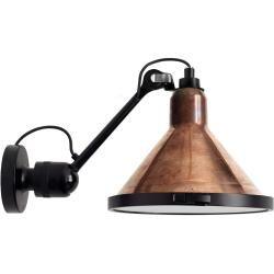 Photo of Dcw Lampe Gras No 304 Xl Seaside Cone Wandleuchte, Struktur schwarz, Schirm gelb Dcw Editionsdcw Edi