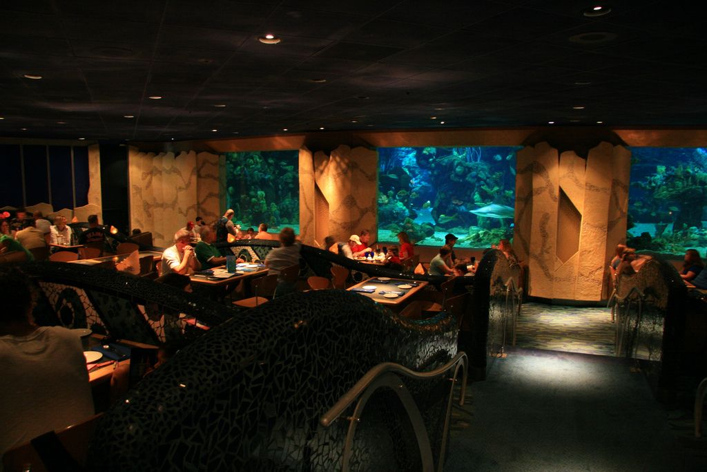 Living Seas Restaurant at Disney World