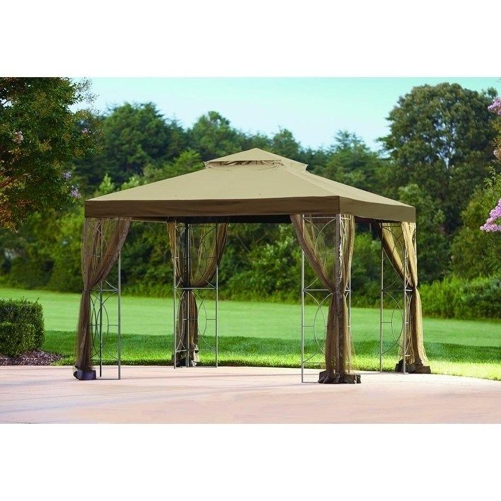 Sunjoy Replacement Canopy Set For L Gz813pst 10x10 Callaway Gazebo