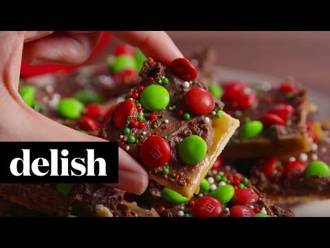 best christmas crack candy recipe how to make christmas crack candy delishcom - Christmas Crack Candy Recipe