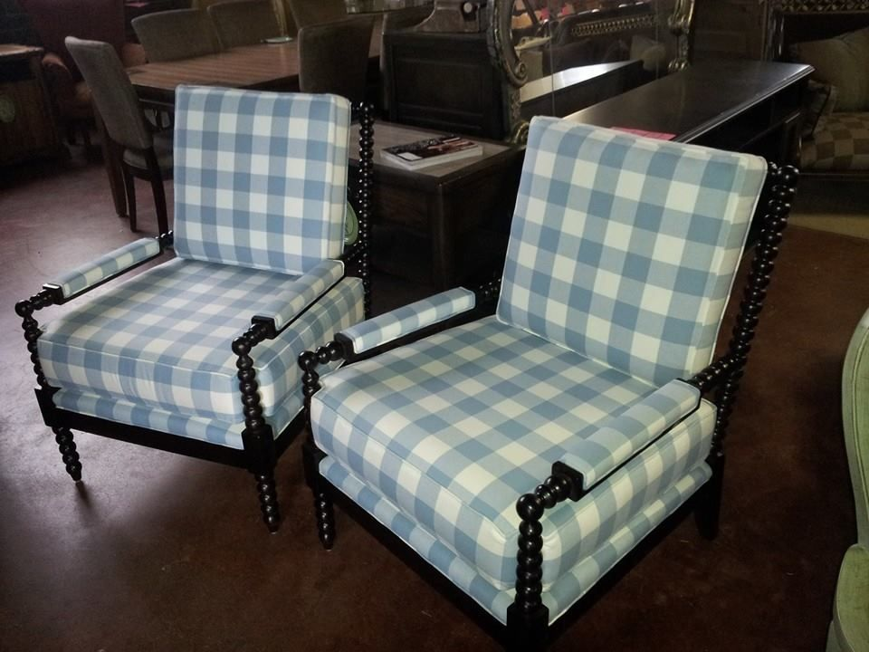 Thomasville Spindle Chairs Custom Made At The Pick It Furniture