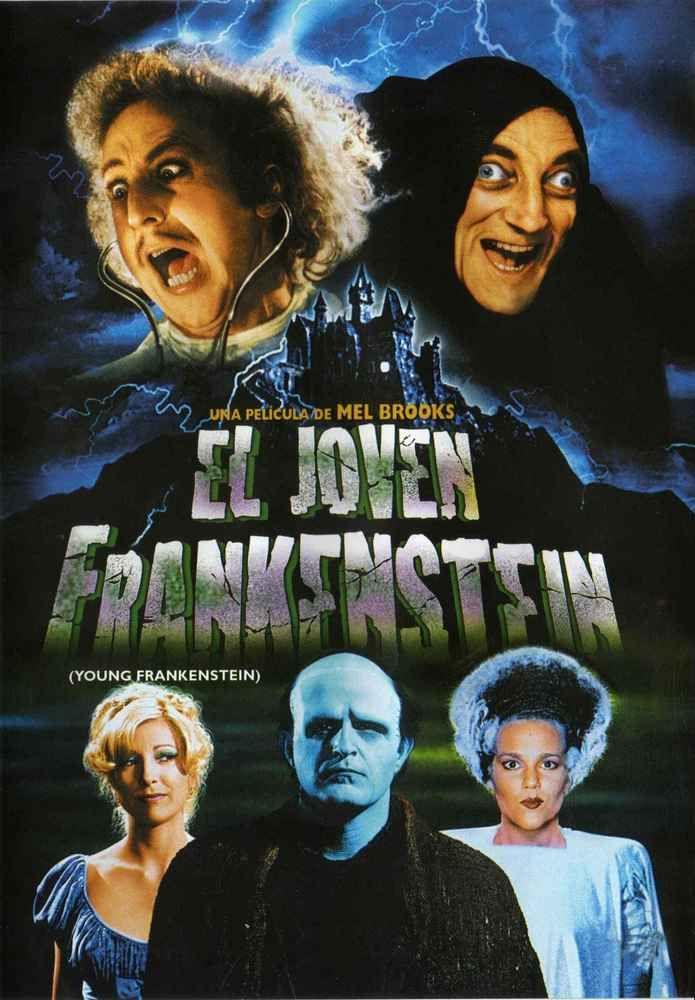 922a5bde27872 El jovencito Frankenstein (1974) EEUU. Dir  Mel Brooks. Comedia. Terror.  Películas de culto - DVD CINE 1251
