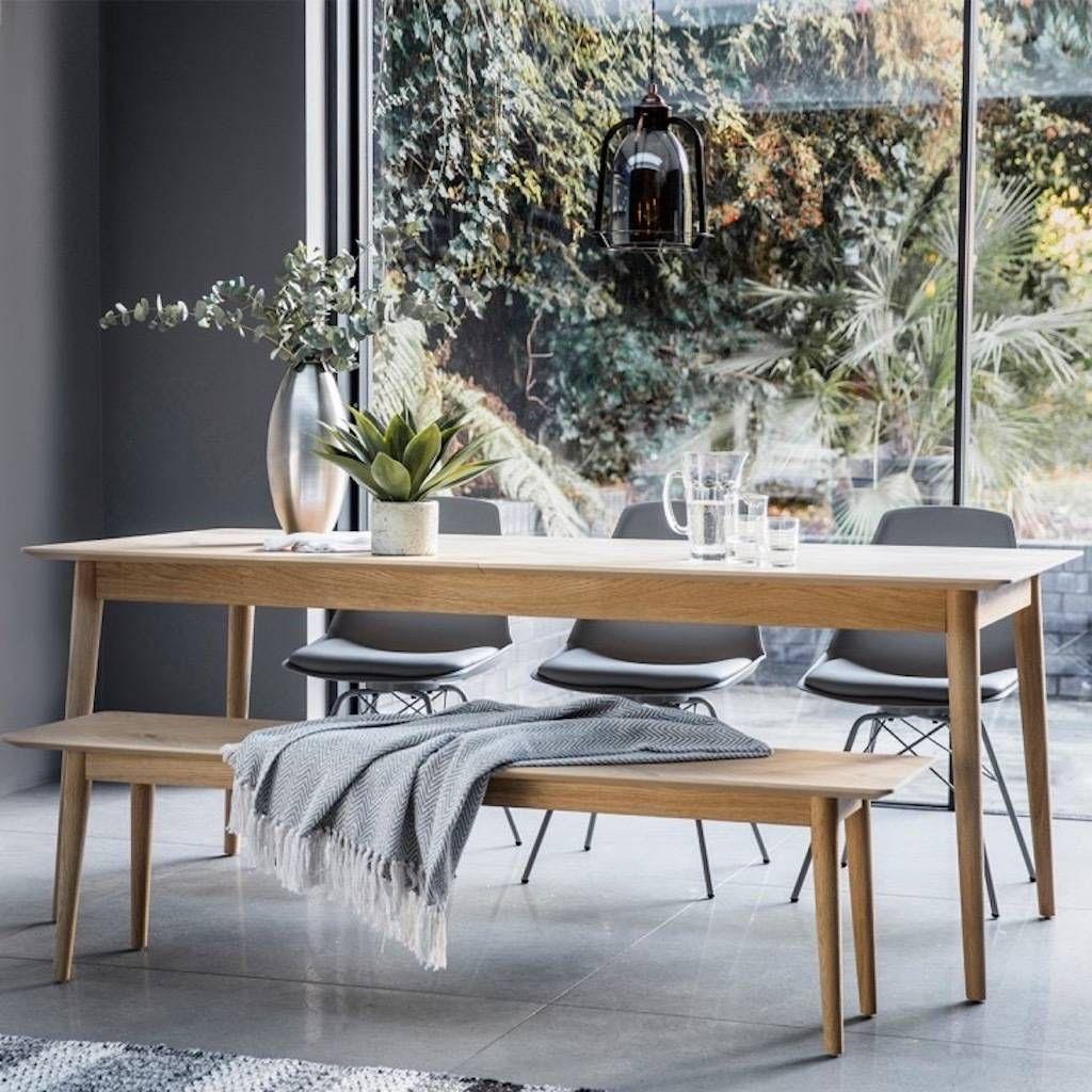 Oak Extendable Dining Table