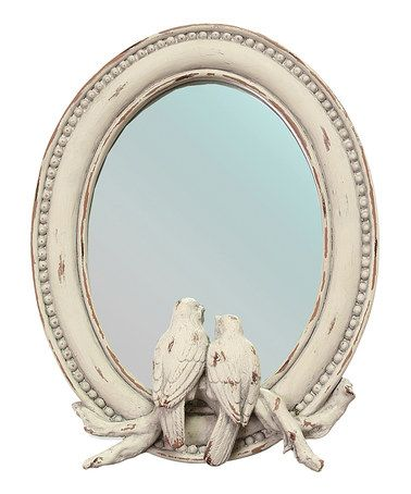 Take a look at this Songbirds Mirror by A Whimsical Home: Décor on #zulily today!