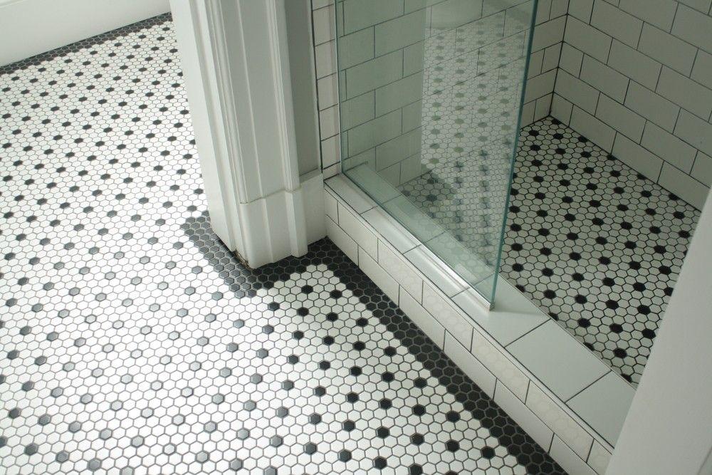 1920s Style Bathroom Tile