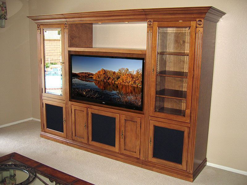 Flat Screen Tv Entertainment Centers Visalia Wall System