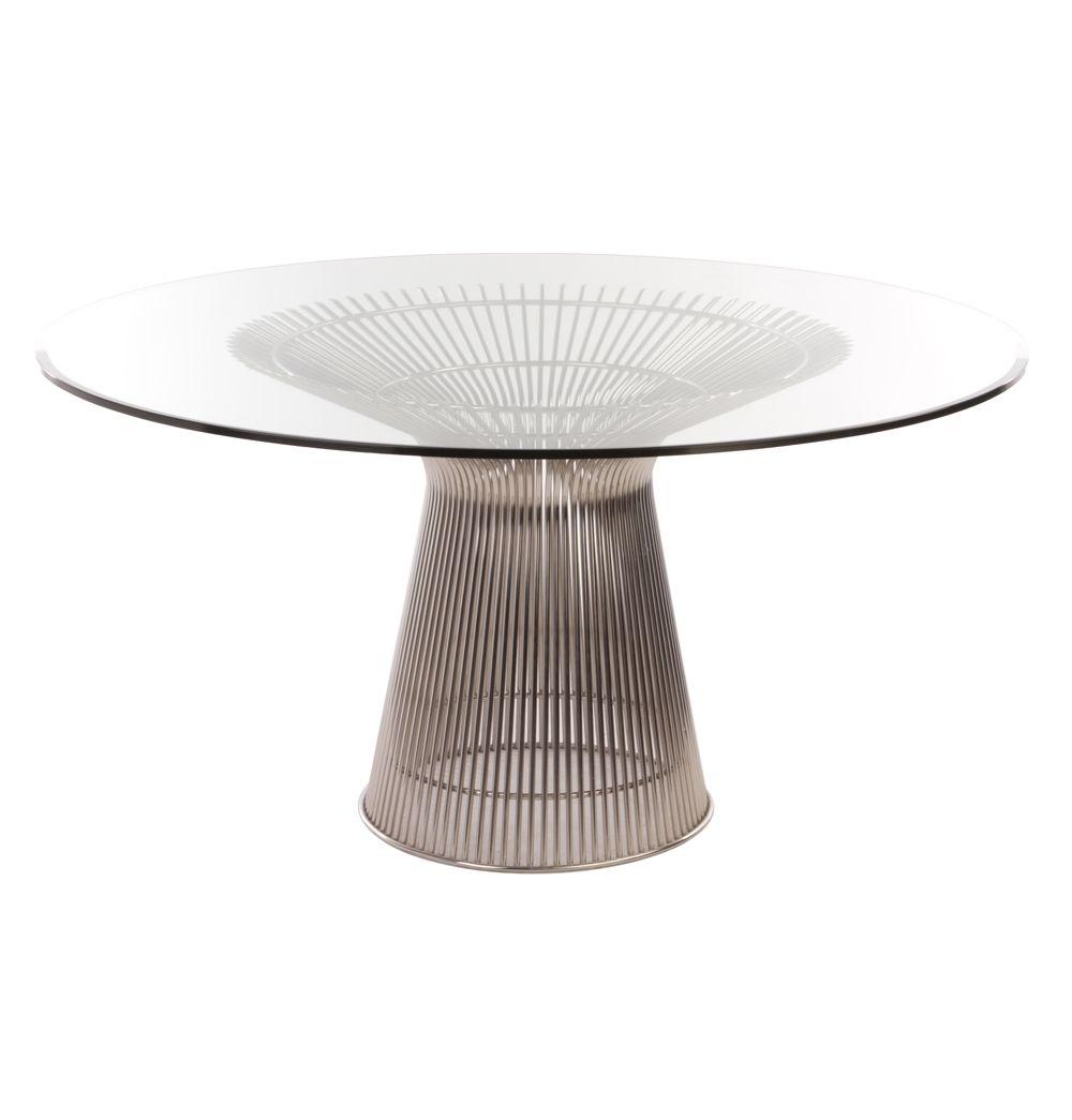 Replica Warren Platner Dining Table By Warren Platner Matt Blatt