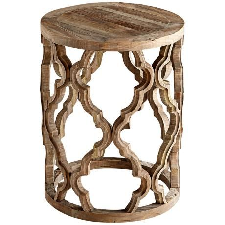 1223 00 Sirah Black Forest Grove Elm Wood Side Table Side Table Wood Side Table Round Accent Table