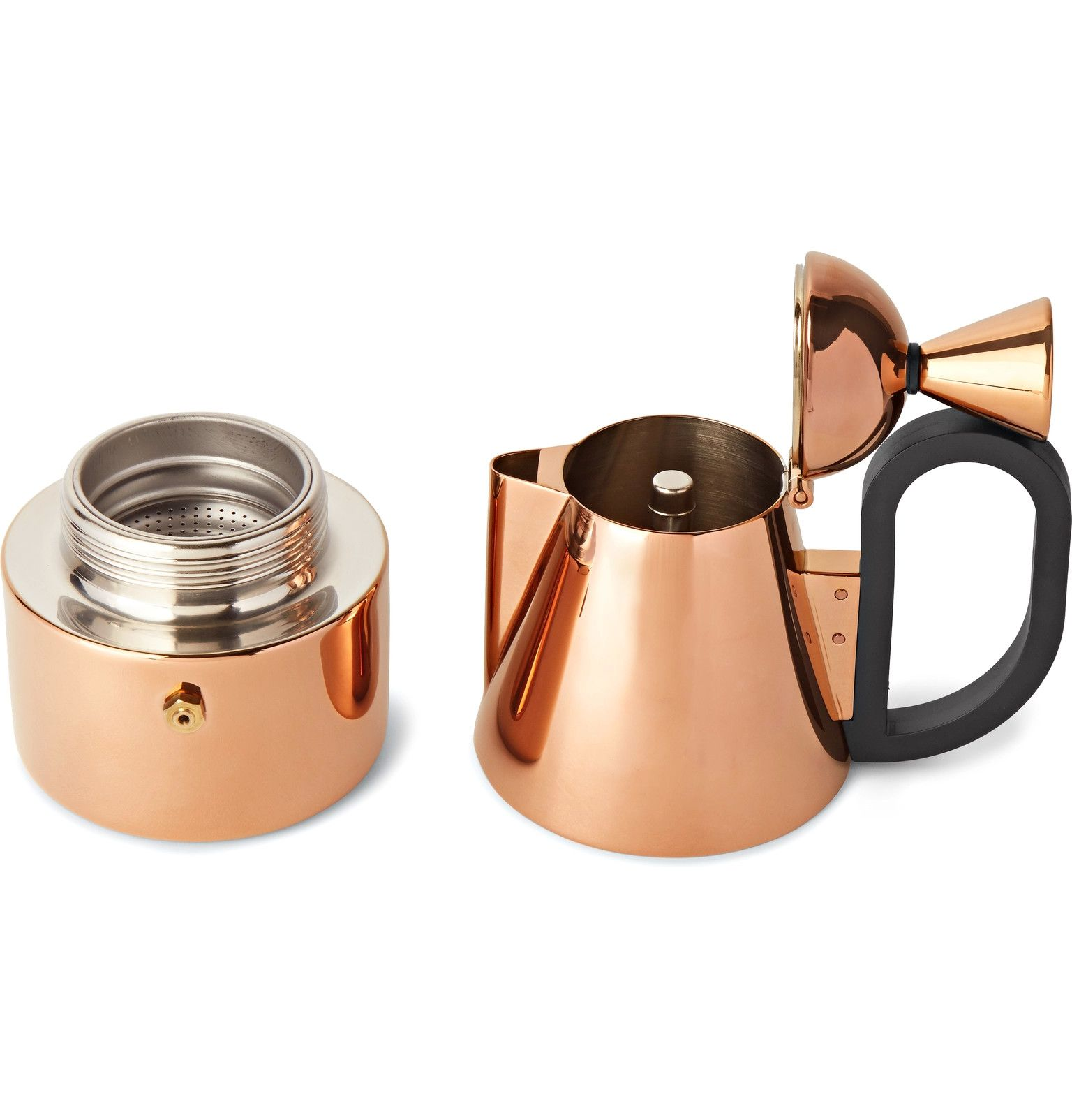 Crafted From Smooth Stainless Steel A Href Http Www Mrporter Com Mens Designers Tom Dixon Tom Dixon A S Stovetop C Tom Dixon Copper Plated Coffee Maker