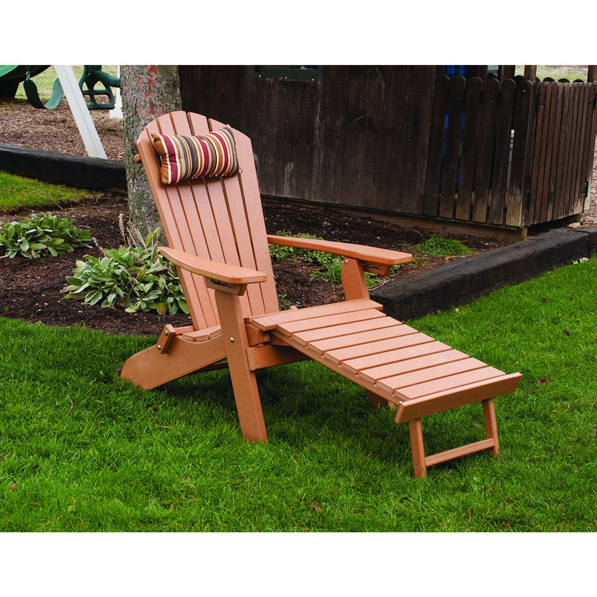 A L Furniture Co Folding Reclining Recycled Plastic Adirondack Chair W Pullout Ottoman Ships Free In 5 7 Business Days Recycled Plastic Adirondack Chairs Plastic Adirondack Chairs Outdoor Chairs