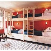 Bunk beds for the girls