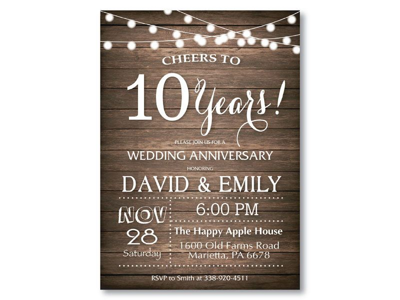 Milestone Customized 10th 20th 30th 40th 50th 60th any year Chalkboard 50th Wedding Anniversary Invitation Printable digital DIY.