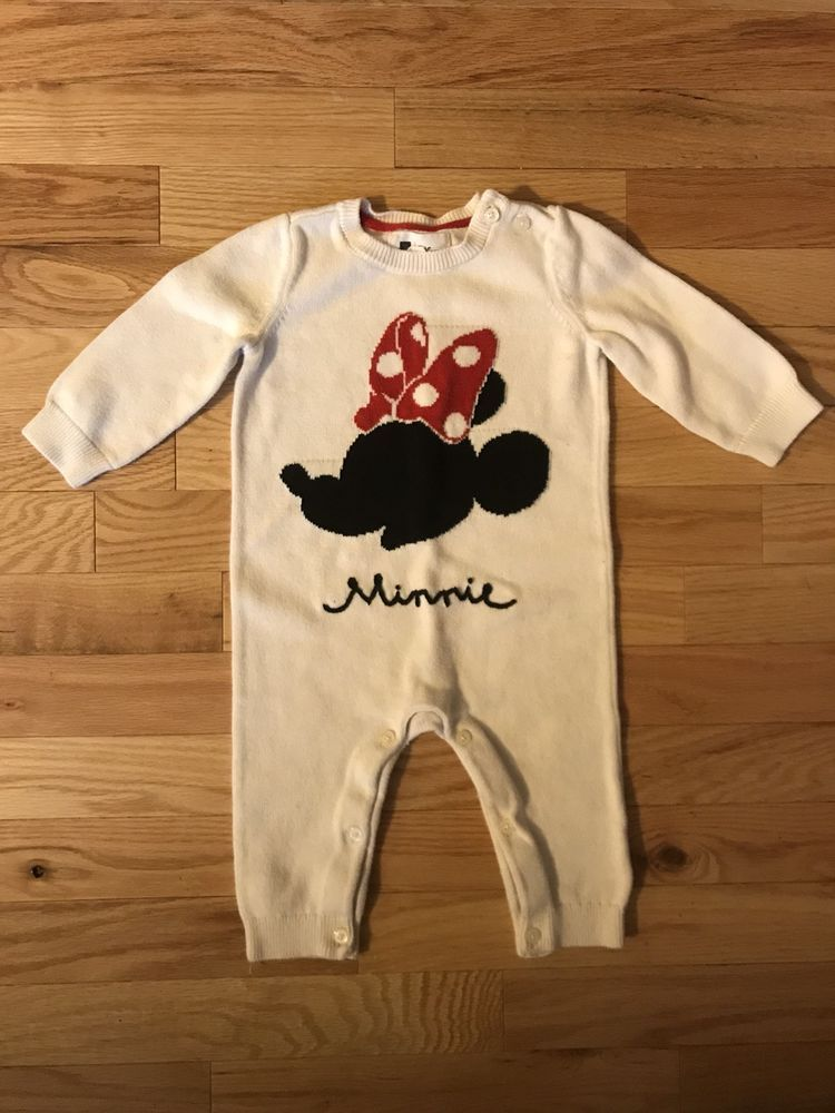 13ec73bc9223 Baby Gap Disney Sweater Romper Minnie Mouse Infant Girl 6-12 Months   fashion  clothing  shoes  accessories  babytoddlerclothing   girlsclothingnewborn5t ...