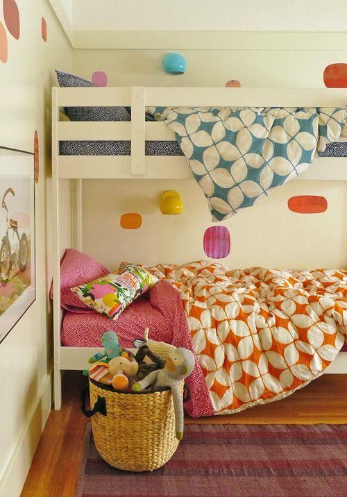 6 habitaciones compartidas por ni o y ni a fotos for Cuartos para nina y nino