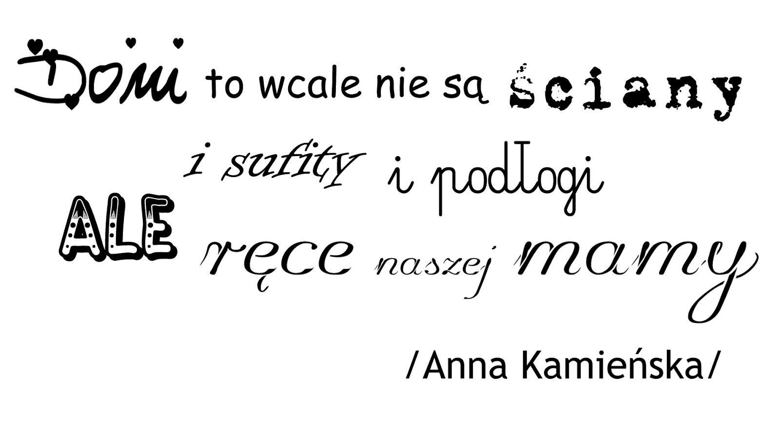 Dzien Mamy Text Motto Math