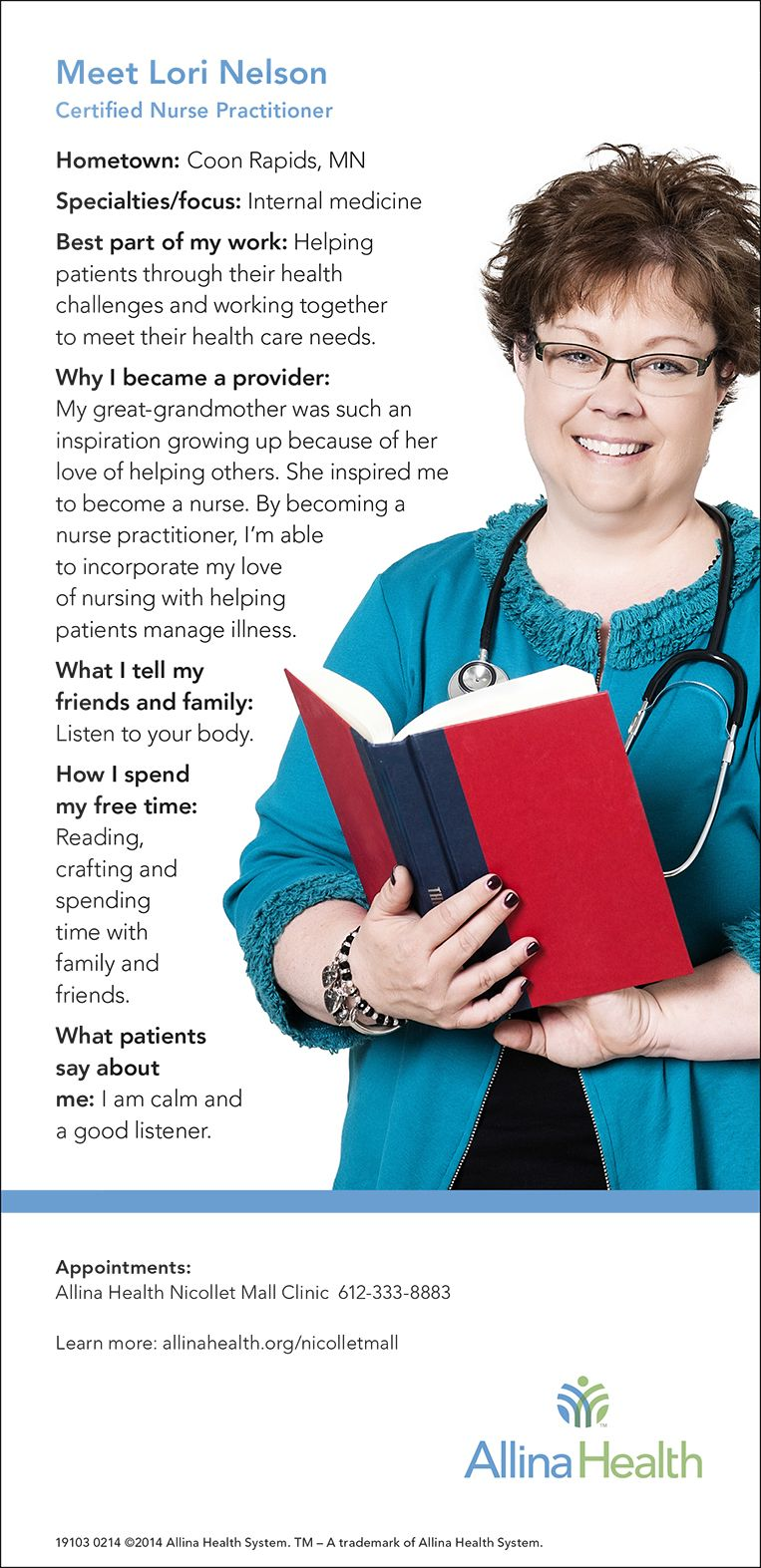 allina health coon rapids endocrinology