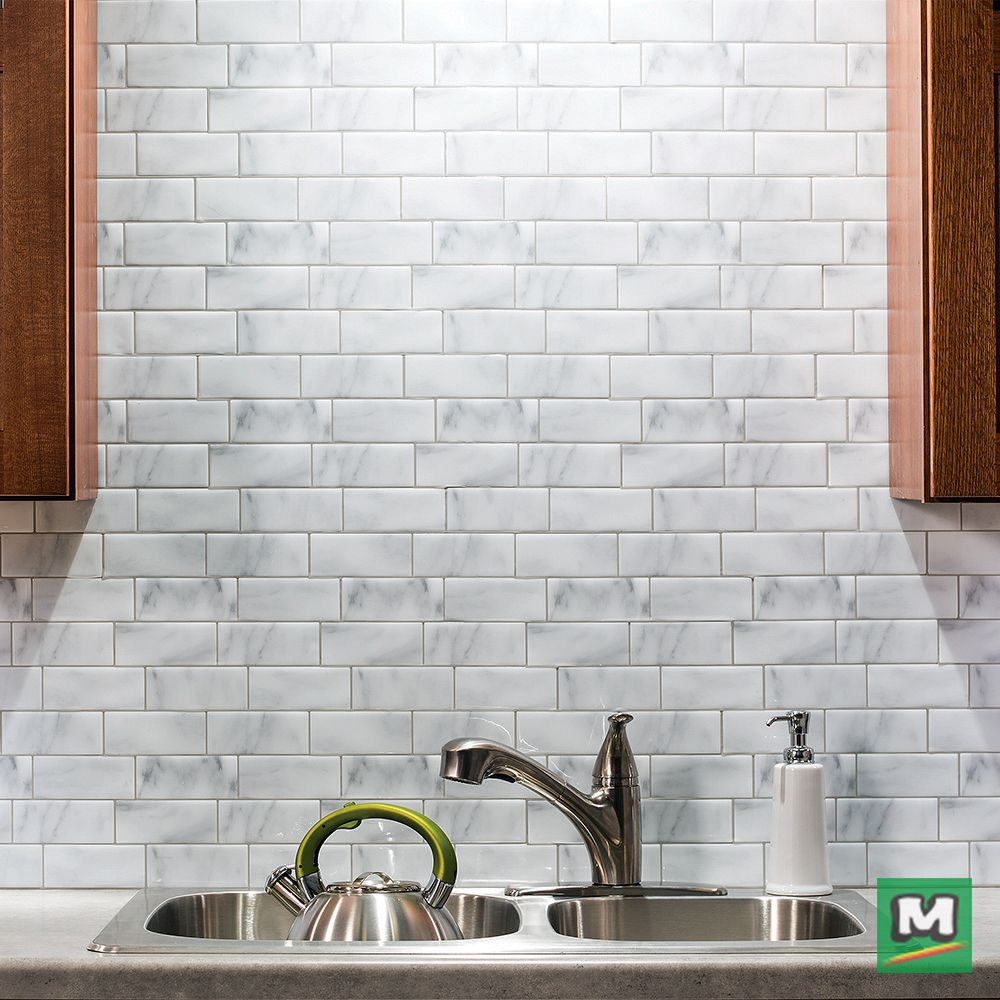 Add Timeless Appeal To A Traditional Kitchen With Vinyl Backsplash