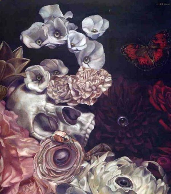 Vanitas, Toru Tamei - Morbide Schönheit; Die Verflechtung Liebe, Manie, Wahnsinn und Tod